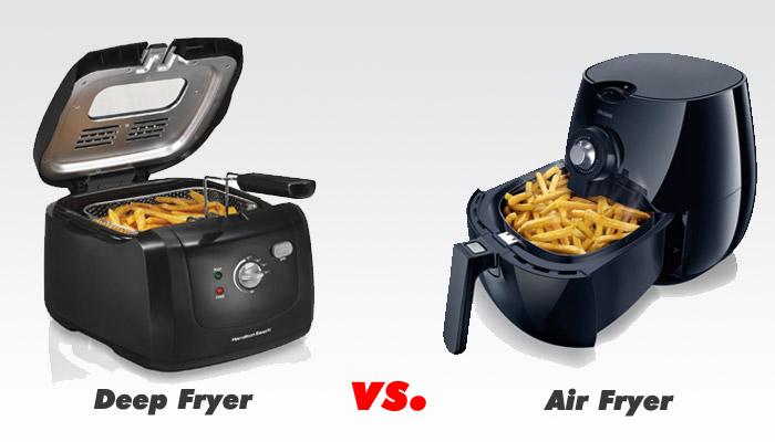Deep Fryer vs. Air Fryer