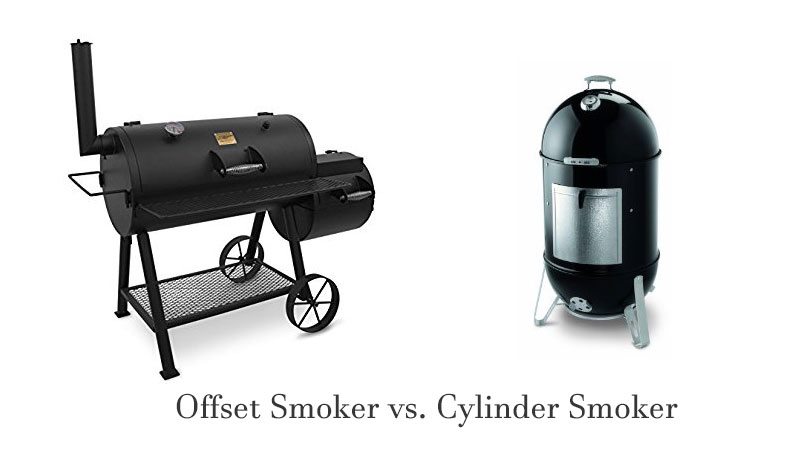 Offset Smoker Vs Cylinder Smoker
