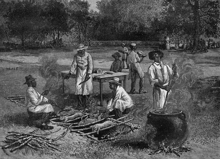 history of barbecue